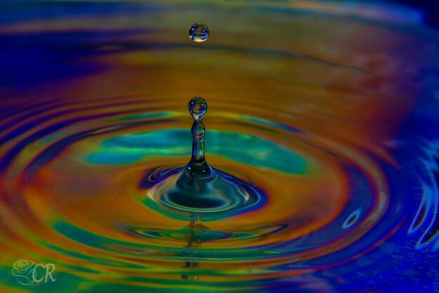 Water Drop Still Motion